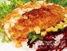 Рецепта Панирана маслена риба със сусам и бяло вино